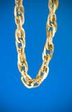 Golden chain stock photos