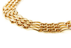Golden chain Royalty Free Stock Image