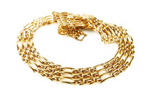 Golden chain Stock Photos