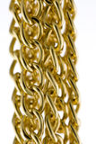 Golden Chains Royalty Free Stock Images