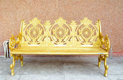 Golden chair Royalty Free Stock Photos