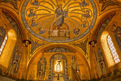 Golden chapel Stock Photo