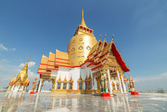Golden chapel Royalty Free Stock Image
