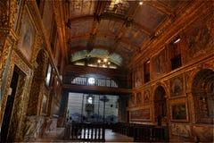 Golden Chapel Recife Pernambuco Brazil Royalty Free Stock Image