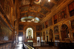 Golden Chapel Recife Pernambuco Brazil Royalty Free Stock Images