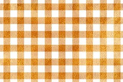 Golden checked texture. Royalty Free Stock Photo