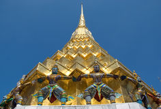Golden Chedi Stock Image