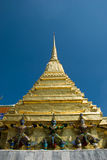 Golden Chedi Stock Photo