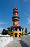 A golden chedi from Bang Pa-in palace Royalty Free Stock Photos