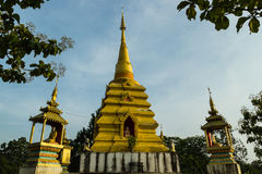 Golden chedi. In Chiangmai, Thailand Stock Images
