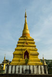Golden chedi in Chiangmai. Royalty Free Stock Photo