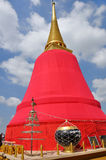 Golden Chedi at The Golden Mountain Stock Photo