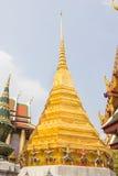 Golden Chedi at Wat Phra Kaew Stock Photography