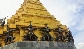 Golden Chedi of Wat Phra Kaew royalty free stock photos