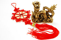 Golden Chinese Imperial Dragon Royalty Free Stock Photo