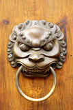 Golden Chinese Old Door Royalty Free Stock Photography