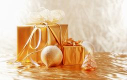 Free Golden Christmas Stock Photography - 17303562