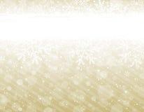 Golden christmas background,  Royalty Free Stock Photos