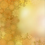 Golden christmas background. EPS 8 Royalty Free Stock Photo