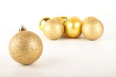 Golden Christmas Ball Royalty Free Stock Photo