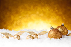 Free Golden Christmas Ball Stock Images - 79083504