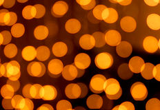 Golden christmas lights abstract homogeneous Stock Images