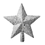 Golden Christmas star decoration Stock Image