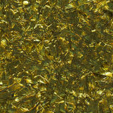Golden Christmas tinsel background Stock Images
