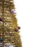 Golden Christmas Tree royalty free stock image
