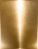 Golden Chrome Metal Royalty Free Stock Image