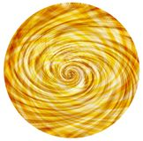 Golden Circular Swirl vintage background Royalty Free Stock Photos