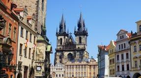 Golden City Prague sightseeing Stock Images
