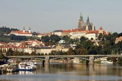 Golden City Prague sightseeing Stock Image