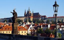 Golden City Prague sightseeing Royalty Free Stock Photo