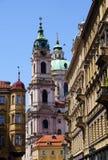 Golden City Prague sightseeing Stock Photos