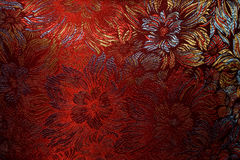 Golden-claret fabric Royalty Free Stock Images