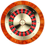 Golden classic roulette Royalty Free Stock Images
