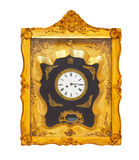 Golden clock Royalty Free Stock Photo