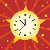 Golden clock Royalty Free Stock Photo