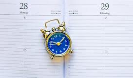 Golden clock Stock Images
