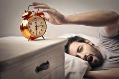 Golden Clock Stock Photography