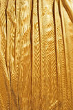 Golden cloth background Stock Photo