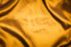 Golden Cloth Background Royalty Free Stock Photo