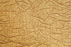 Golden cloth texture Royalty Free Stock Images
