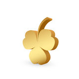 Golden clover Royalty Free Stock Image