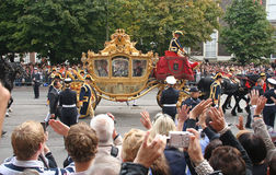 Golden Coach, Holland Royalty Free Stock Image