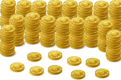 Golden Coin Stock Photos