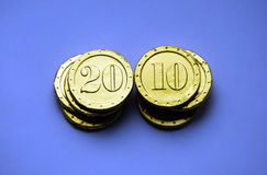 Golden coin Royalty Free Stock Photos