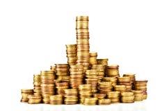 Golden coin Stock Photography