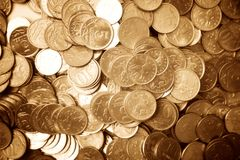 Free Golden Coins Royalty Free Stock Photos - 2550358